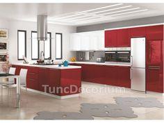 Lake mutfak dolabı kategorisine ait parlak bordo lake mutfak dolapları bilgileri, lake mutfak dolabı fiyatları, mutfak dolabı Çeşitleri ve lake mutfak dolabı modelleri yer alıyor.