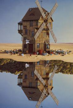Jacek Yerka - Art Collection: paintings