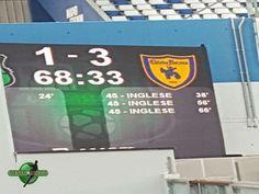 A Sassuolo, complice un espulsione ad inizio match, il Chievo strapazza i nero verdi grazie ad una strabiliante tripletta di Inglese.