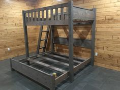 Our bunk beds are made from the best materials and delivered and setup at your home. We deliver across the country and have set up many custom bunk beds from California to New York. Rustic Bunk Beds, Bunk Beds For Boys Room, Modern Bunk Beds, Bunk Rooms, Bunk Beds With Stairs, Kid Beds, Bunkbeds For Small Room, Bunk Bed Ideas For Small Rooms, Queen Bunk Beds