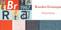 Brandon Grotesque Font Free Download