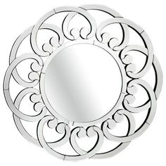 Mirrored Scroll Mirror