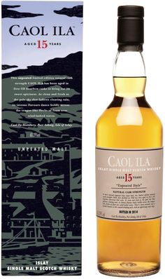 Caol Ila 15 Year Old Unpeated Single Malt Scotch Whisky | @Caskers