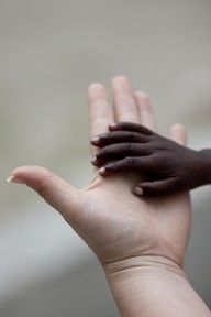White & Black or ANY color we are all HUMAN  and WE all should LOVE each other as GOD Loves us all...AMEN