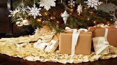 4 Easy No-Sew Christmas Tree Skirts