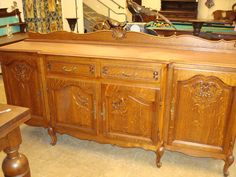 French antique buffet