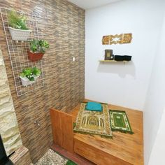 47 Praying Room Interior Design That You Can Try In Your Home # Design Home Design Living Room, Room Interior Design, Home Design Decor, Modern House Design, Home Decor, Minimalis House Design, Islamic Decor, Collor, Prayer Room