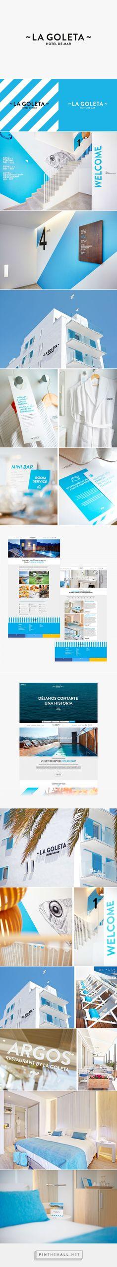 La Goleta Hotel de Mar on Behance - created via https://pinthemall.net