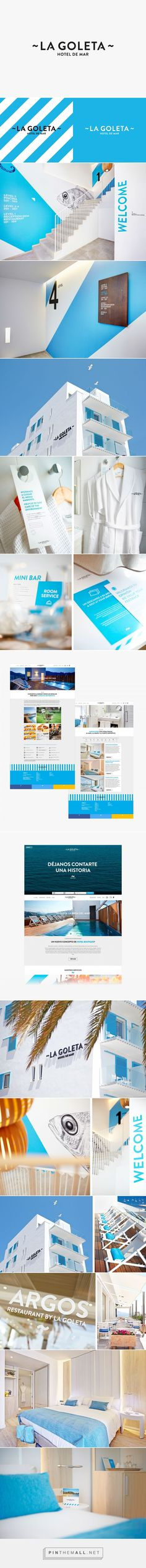La Goleta Hotel de Mar on Behance - created via https://pinthemall.net