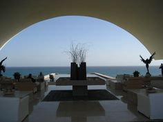 Hotel lobby where we stayed in Cabo San Lucas. Been there twice. Would love to go again.