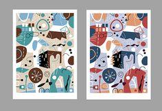 Kristin Berg Johnsen: More prints Kids Rugs, Prints, Home Decor, Art, Art Background, Decoration Home, Kid Friendly Rugs, Room Decor, Kunst