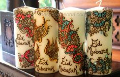 ananyacards:    Candles for Eid