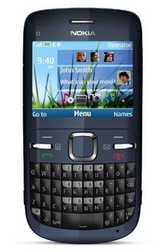 Nokia C3-00 Unlocked Cell Phone with QWERTY  Dedicated E-mail Key  2 MP Camera  Media Player  WLAN  and MicroSD Slot--U.S....: http://www.amazon.com/Nokia-Unlocked-Dedicated-Slot-U-S-Warranty/dp/B003V4AJSU/?tag=koraimultimed-20