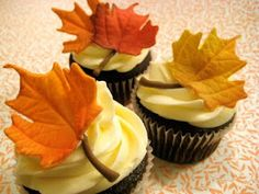 How to make realistic fall gumpaste leaves.