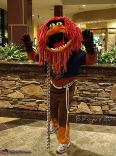 Muppets Animal Costume this would be perfect for my brother