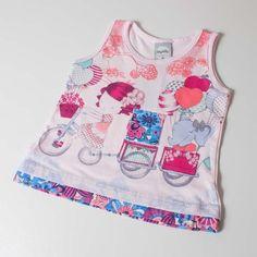 Blusa Baby Cupcake | Moda Love  17,90 a vista