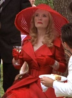 """<3 Lindsay Duncan's madcap character in """"Under the Tuscan Sun""""...who doesn't want to flounce around Italy in 1940's clothes?"""
