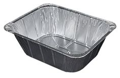 Durable Packaging 4288-100 Aluminum Steam Table Pan, Half-Size, Extra Deep, 4-3/16' Pan Depth (Pack of 100) * More info could be found at the image url.