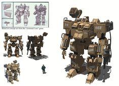 Robot, Alexander Trufanov on ArtStation at https://www.artstation.com/artwork/robot-f123a550-fd89-4ad8-8321-647e53c148ae