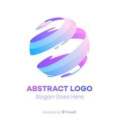 Gradient logo Vectors, Photos and PSD files Modern Logo Design, Business Logo Design, Ad Design, Graphic Design, Type Design, Globus Logo, Type Logo, 10 Logo, Initials Logo