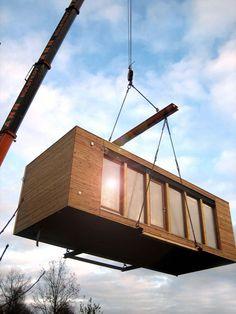 Bauprozess Container Haus Kaufen
