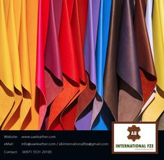 All such people who have been looking for #ItalianGenuineLeatherSupplier here and there can relax now because AB INTERNATIONAL FZE is here give you the best quality of that #leather. http://www.uaeleather.com/company-profile.html