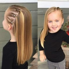 ) is this baby girl + toddler hairstyle! hairstyles toddlerhairstyles babygirlhairstyles kidshair… How cute (and EASY!) is this baby girl + toddler hairstyle! hairstyles toddlerhairstyles babygirlhairstyles kidshair… Kids h - b Easy Toddler Hairstyles, Baby Girl Hairstyles, Easy Little Girl Hairstyles, Toddler Girls Hairstyles, Cute Little Girl Hairstyles, Summer Hairstyles, Hairstyles 2016, Trending Hairstyles, Hairstyle For Baby Girl