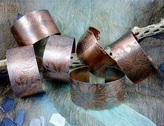 Etched Copper jewelry | Another Wild Wire Women retreat begins on Thursday evening, August 23 ...