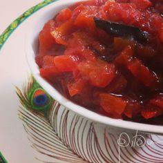 Geléia de tomates