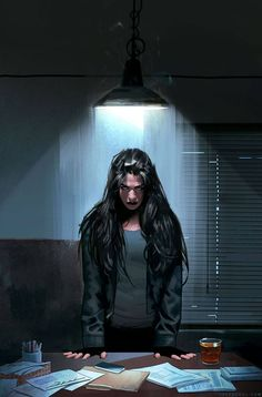 Jessica Jones #4 by Jeff Dekal *