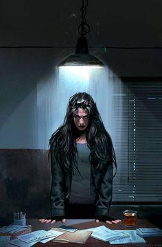 Jessica Jones #4 by Jeff Dekal *