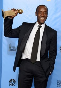 Golden Globes 2013 Don Cheadle House of Lies