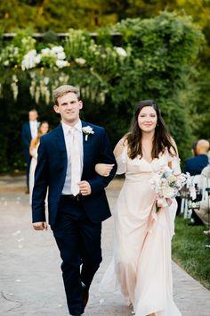Affordable ruffled V neck long chiffon bridesmaid dresses on budget Wedding Blog, Wedding Photos, Wedding Ideas, Pink Bridesmaid Dresses, Wedding Dresses, Wedding Receptions, Wedding Invitations, Wedding Decorations, Tulle