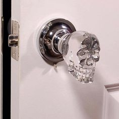 Skull door handle. For ashtons man cave.