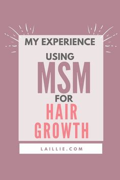 Learn how to grow your hair out as fast as possible through the use of MSM. I have been using MSM for hair growth for about a year now and am really happy with it. Make your hair grow really fast with this supplement! #hairgrowth #growyourhair #MSM #haircare #hairhealth Growing Your Hair Out, Hair Health, Grow Hair, Hair Growth, Hair Care, Learning, Happy, How To Make, Beauty