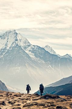 """And the mountains echoed. By Fahad Mohammed -------------- """"Once you have lived with the mountains for any length of time, you belong to them, and must return again and again."""" - Ruskin Bond."""