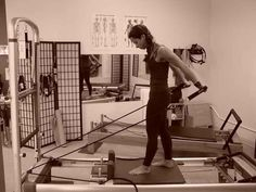 Michael Miller Pilates Reformer Standing Arms FlexExtend