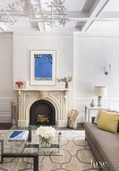 Historic New York City Brownstone with Eclectic Interiors | LuxeDaily - Design Insight from the Editors of Luxe Interiors + Design