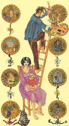 tarot card meanings, Tara Greene tarot of Pentacles/coins/ disks – Medieval Scapini Tarot Daily Tarot, Pentacle, Oracle Cards, New Moon, Tarot Decks, Tarot Cards, Middle Ages, Wands, I Card