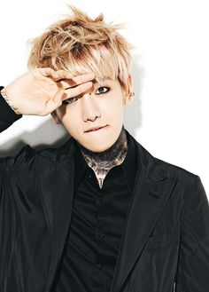 EXO - Baekhyun Exo Korean, Korean Men, Hapkido, Ulzzang, Blonde Asian, Taecyeon, Kim Minseok, Baekhyun Chanyeol, Kpop Exo