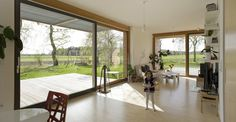 Living Space, Patio Doors, Charming Rustic Family home in the Czech Republic