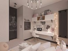 Room Inspiration Bedroom, Room Decor Bedroom, Home Office Design, Room Inspiration, Cozy Home Decorating, Room Design Bedroom, Girl Room, Room Decor, Room Interior