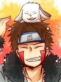 Kiba and Akamaru Naruto Uzumaki, Naruto Boys, Naruto Teams, Shikamaru, Naruto Art, Naruto And Sasuke, Anime Naruto, Manga Anime, Hinata