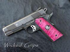 Pink 1911......I want this gun.