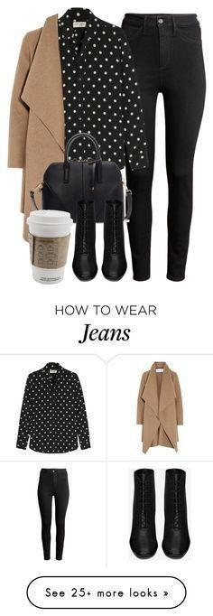 Outfit perfecto con items de H&M, Yves Saint Laurent, Harris Wharf London y Zara Mode Outfits, Winter Outfits, Fashion Outfits, Womens Fashion, Winter Dresses, Fashion Hacks, Fashion Clothes, Fashion Tips, Casual Mode