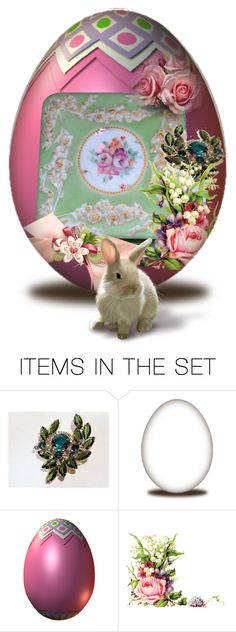 """""""Another Antique Easter Egg"""" by pattysporcelainetc ❤ liked on Polyvore featuring art, vintage and country"""