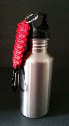 California Innovations Water Bottle Stainless With Oh Crap Cord Kit Prepper Gear #CaliforniaInnovations