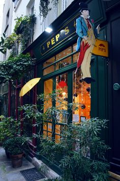 """When out-and-out in Paris, make sure to stop at PEPS. Classified as a """"Living Heritage Company"""" by the French government, Pep's is a cultural curiosity that shouldn't be missed. This umbrella repair store is recommended by Ines de la Fressange."""