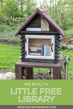 A unique Little Free Library located in Ohio. #sharebooks #littlefreelibraries #littlelibrary #littlefreelibrariesofinstagram #bookstagram #freelittlelibrary #bookbox #LittleFreeLibrary #bookaholic #igbooks #bookworm #reading #booknerd #booklove #ilovereading #instaread #bookish Little Free Libraries, Little Library, Free Library, I Love Reading, Book Nerd, Bookstagram, Book Worms, Cabin, House Styles