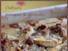 Clafoutis pommes & amandes